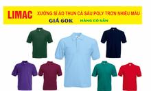 Xưởng may áo thun cá sấu Polo trơn giá rẻ tại HCM
