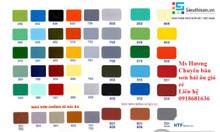 Bảng màu sơn Hải Âu, đại lí bán sơn Hải Âu chính hãng