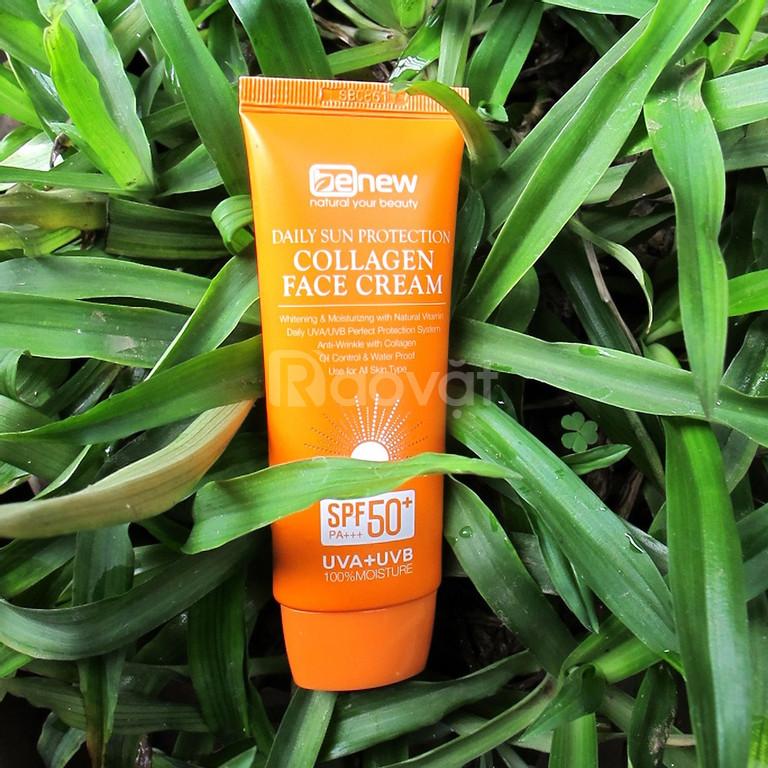 Kem chống nắng cao cấp dành cho da mặt - Benew Collagen Sun Cream