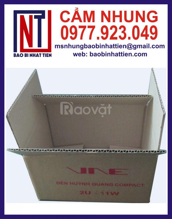 Thùng carton in flexo, thùng carton giá rẻ