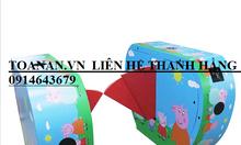 Flap barrier, cửa kiểm soát khu vui chơi trẻ em