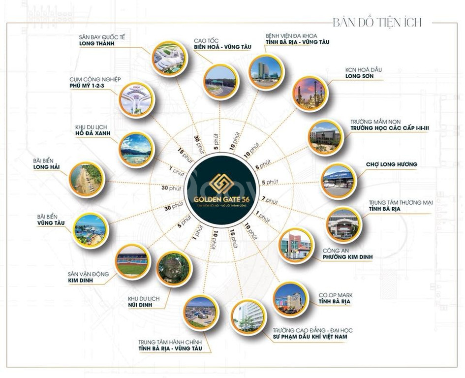 Đất nền Bà Rịa Vũng Tàu mặt tiền đương Hùng Vương giá đầu tư