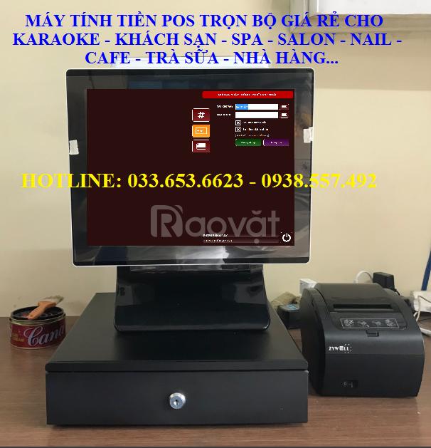Bán máy tính tiền cho quán karaoke giá rẻ tại TpHCM