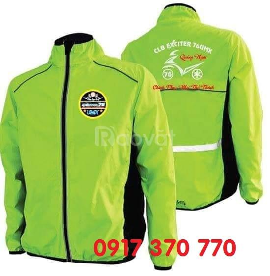 May áo khoác quảng cáo, áo khoác đồng phục theo yêu cầu