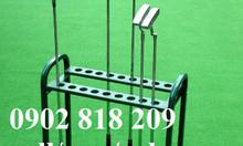 Giá để gậy golf để được 18 gậy màu đen