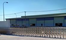 Cổng xếp inox tự động Lb-sky trúng thầu tại KCN An Phước - Long Thành