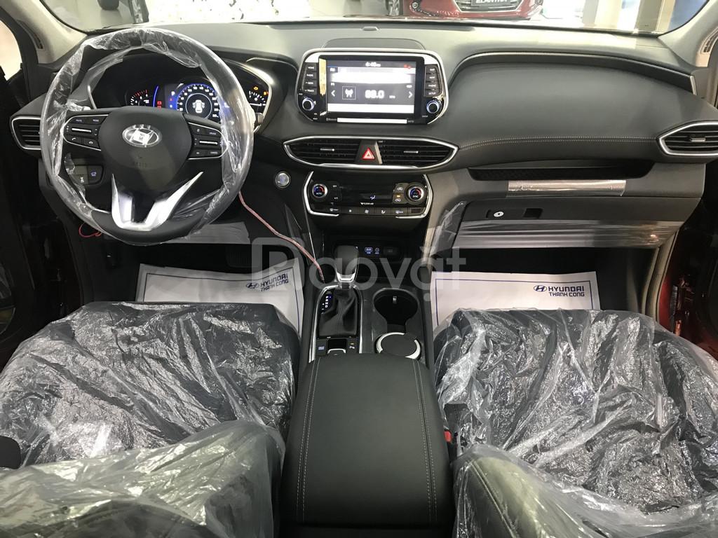 SantaFe 2019, xăng/dầu đặc biệt, màu bạc, Hyundai An Phú