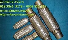 Ống bô inox 304 - bô chống rung - ống bô xả máy phát điện công nghiệp