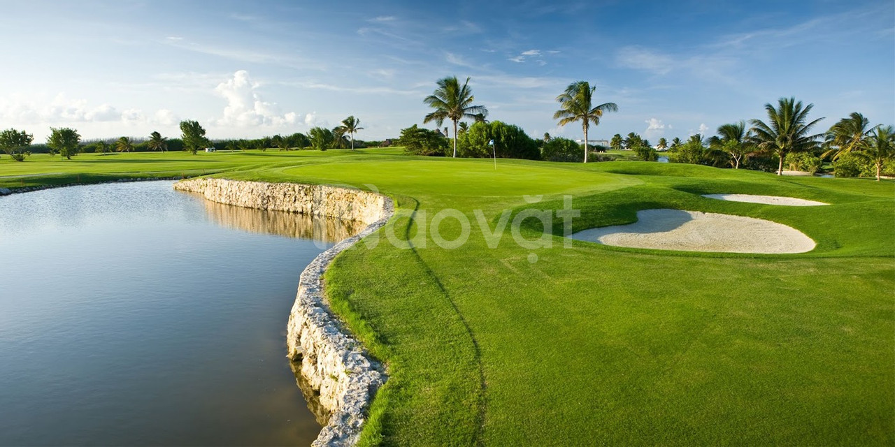 Shophouse, nhà phố biển nằm sát sân golf tốt châu Á, giá 19tr/m2