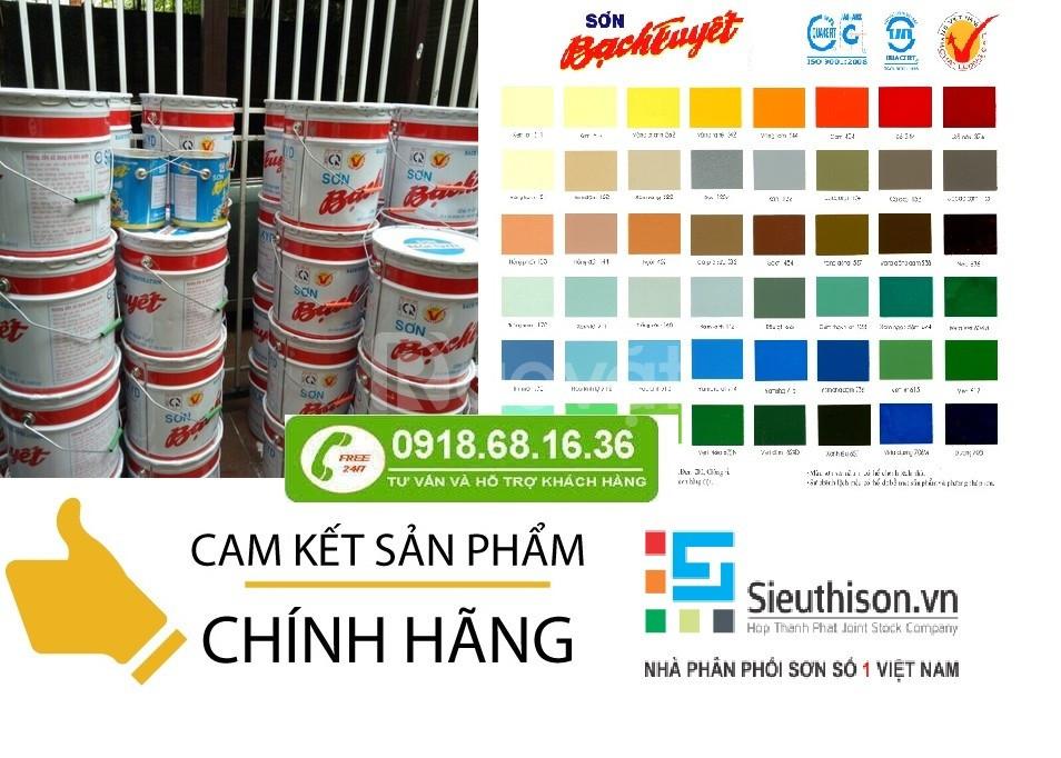 Đại lí phân phối sơn dầu bạch tuyết chính hãng, giá rẻ tại Tây Ninh