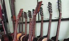 Bán đàn guitar sinh viên, guitar hồng đào giá rẻ