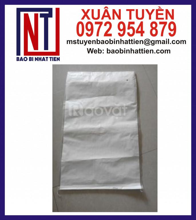 Bao PP dệt trắng không in đựng bột (ảnh 5)