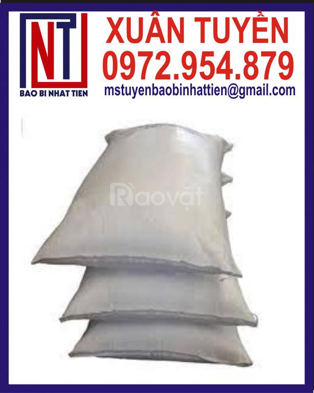 Bao PP dệt trắng không in đựng bột (ảnh 1)