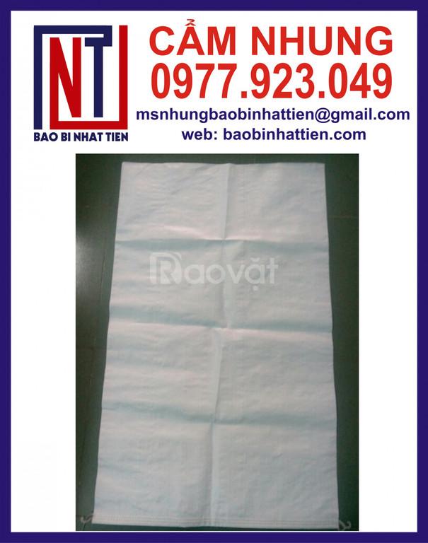 Bao PP dệt trắng đựng bột 10kg, 25kg, 40kg
