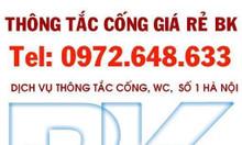 Thông tắc chậu rửa cống ngầm tại Vân Nội Vân Hà