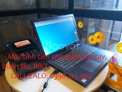 Cung cấp máy tính tiền giá rẻ cho quán ăn tại Bạc Liêu