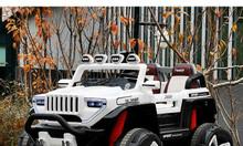 Xe ô tô điện BDQ-1200 dáng jeep cực đẹp với chức năng hiện đại