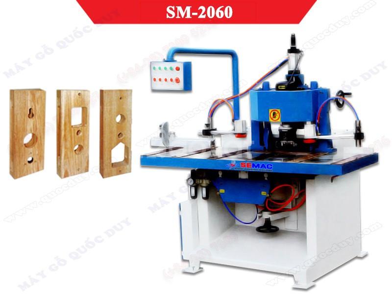Máy khoan mộng ổ khóa SM-2060/SM-2060B rẻ HCM (ảnh 4)