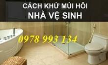 Cách chống mùi hôi, mùi hôi nhà vệ sinh tại Sài Gòn