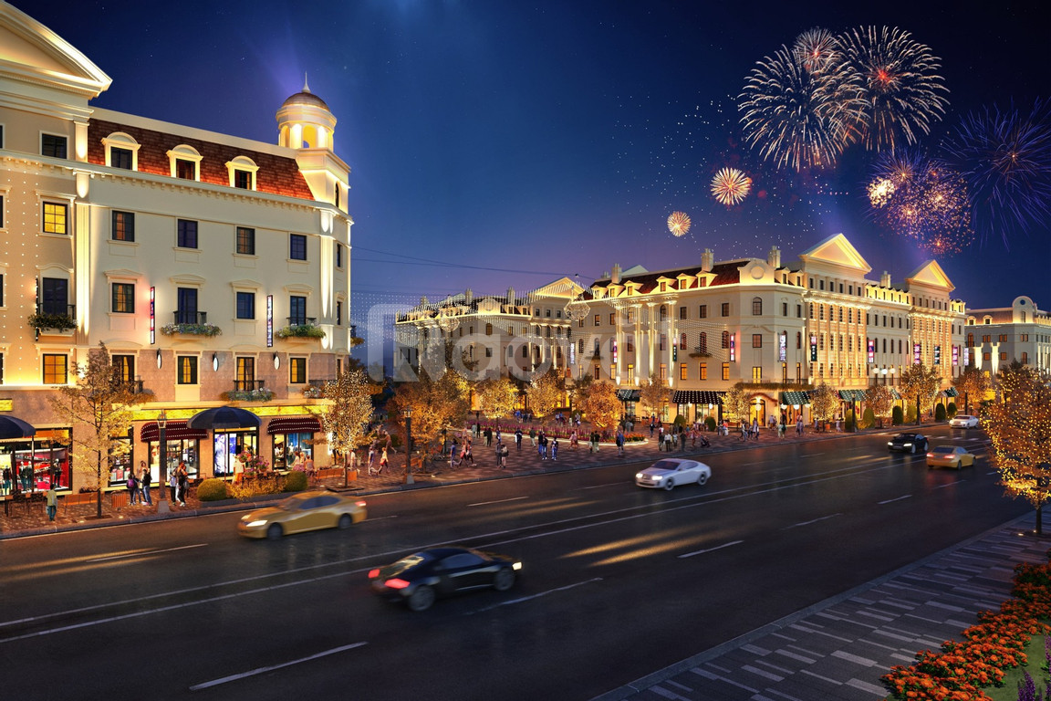 Shophouse Euro SunGroup Hạ Long, cam kết lợi nhuận 130%