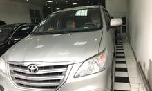 Toyota Innova 2.0E, sx 2016 màu bạc