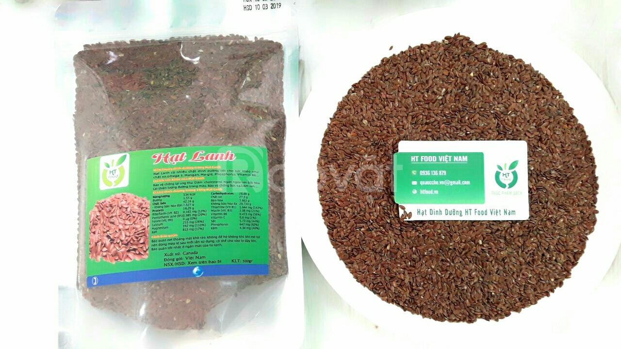 Địa chỉ bán hạt lanh tại Quận Gò Vấp TPHCM - tác dụng hạt lanh