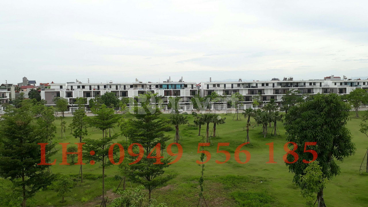 Cần bán gấp căn liền kề 78m, mặt đường 13m dự án Nam 32