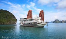 Giảm giá hè 2019 du thuyền Hạ Long Legacy Legend Cruise 4 sao