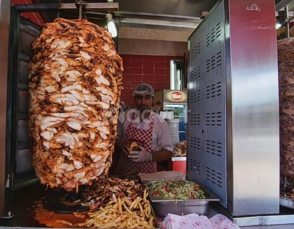 Lò nướng bánh mì Doner Kebab