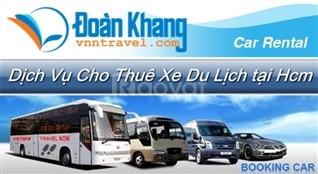 Giá thuê xe 7 chỗ có tài xế tại HCM