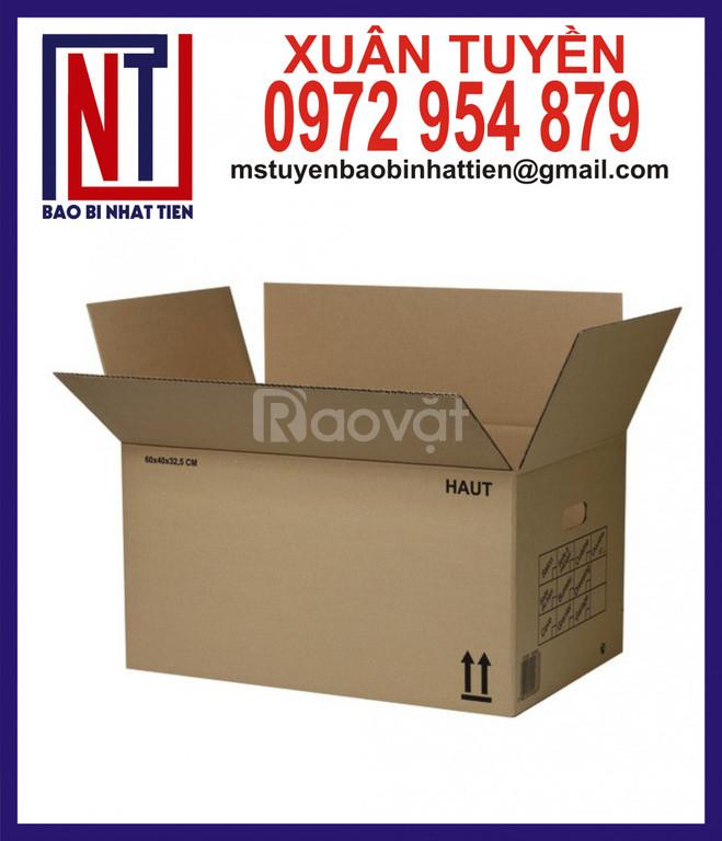 Thùng carton đựng văn phòng phẩm (ảnh 1)