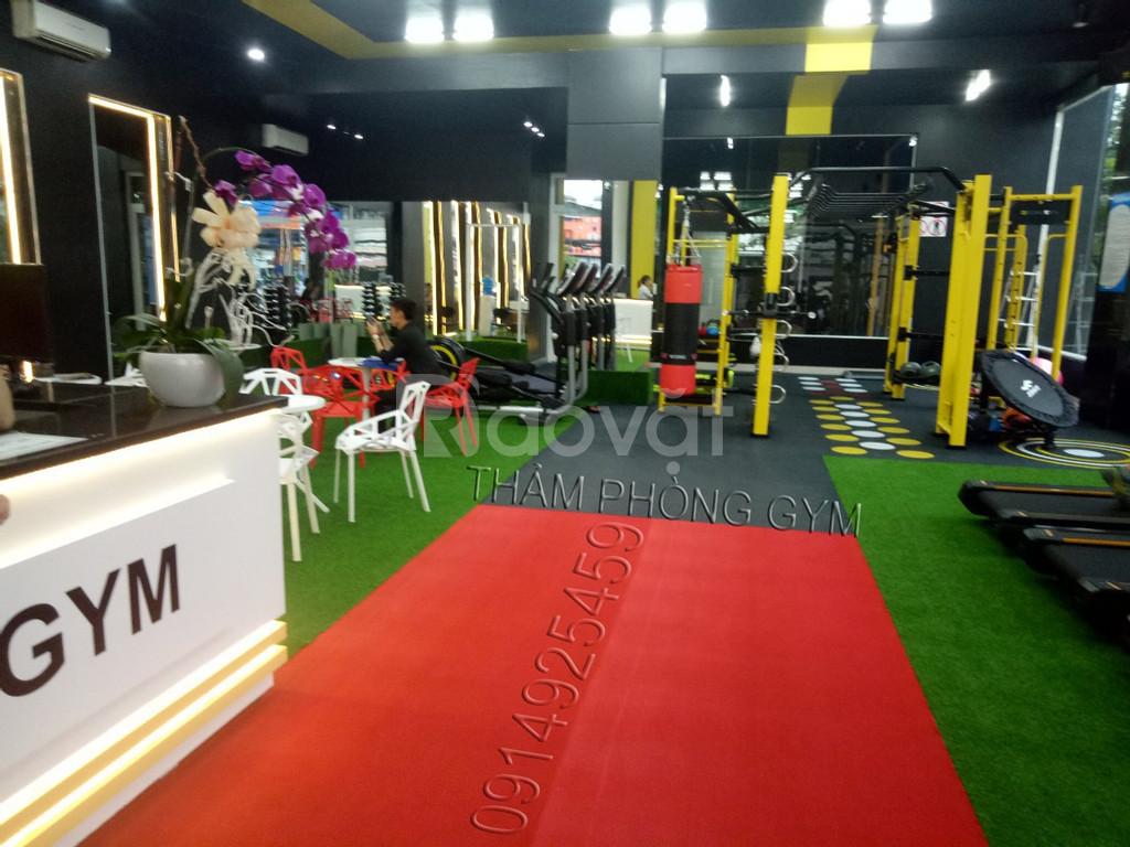 Thảm phòng gym giá rẻ tháng 3