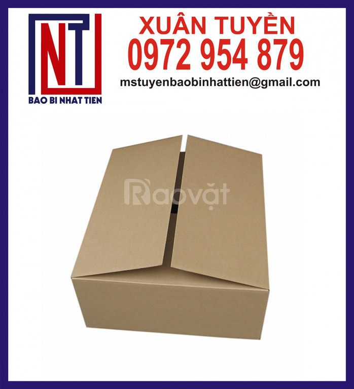 Thùng carton đựng văn phòng phẩm (ảnh 8)