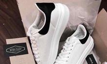 Giày thể thao nữ thấp cổ gót đen - G6097
