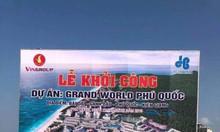 Mở bán shop và condotel Grand World Phú Quốc, nhiều ưu đãi