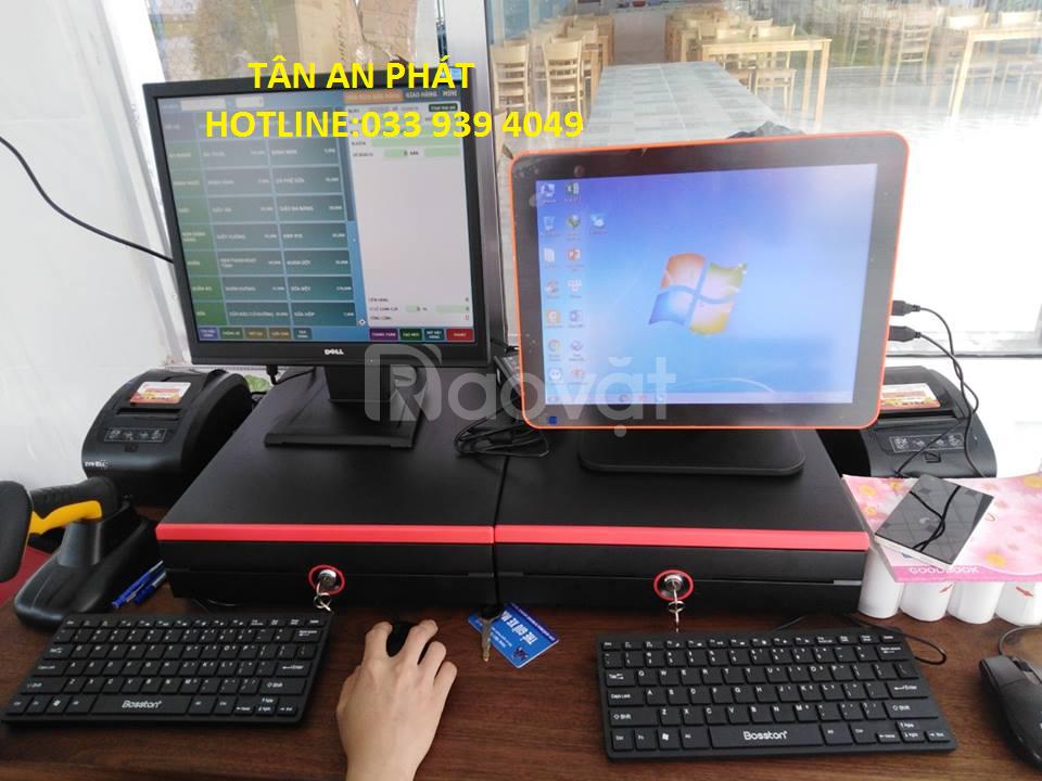 Lắp đặt máy tính tiền cảm ứng cho quán cafe, nhà hàng giá rẻ