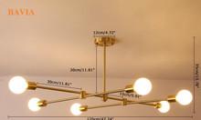 Đèn thả trần quán Cafe ML-DT1010