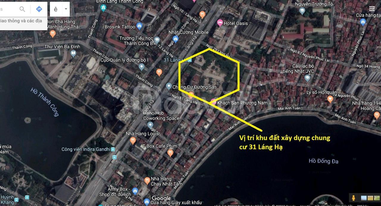 Chung cư 31 Láng Hạ - Sun Grand City Láng Hạ Residences
