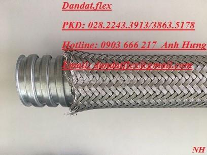 Ống luồn dây điện lõi thép, ống ruột gà lưới bện, ống ruột gà bọc lưới
