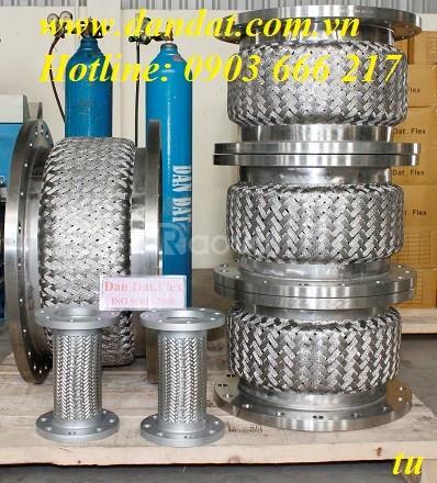 Ống mềm inox Dân Đạt co.,Ltd, khớp nối mềm nối bích, ống mềm inox