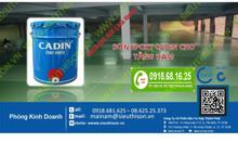 Sơn Epoxy Cadin chịu tải 3-5 tấn giá rẻ cho nhà xưởng tại Hồ Chí Minh