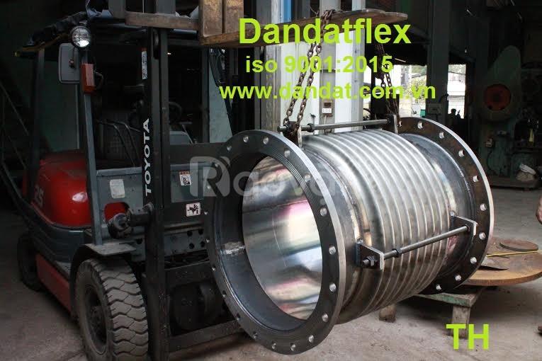 Khớp chống rung inox/khớp nối mềm nối bích/ống bù giãn nỡ nhiệt.