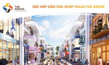Shop Villa The Arena - sát biển giá hấp dẫn thu hút nhà đầu tư