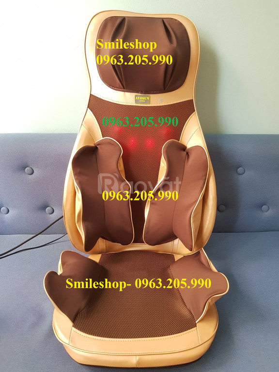 Đệm ghế mát xa giảm đau có túi khí ép hơi mẫu mới 2019