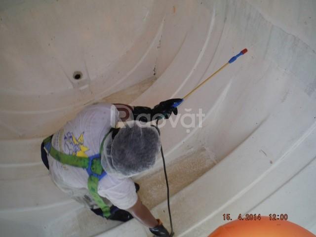 Phục vụ thau rửa bể nước tại Phố Trần Qúy Cáp