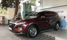 Hyundai SantaFe 2.2L dầu tiêu chuẩn, màu đỏ