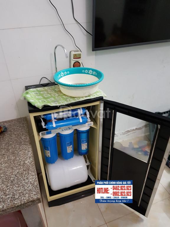 Lắp đặt máy lọc nước Karofi tại xã Hoàng Kim huyện Mê Linh Hà Nội