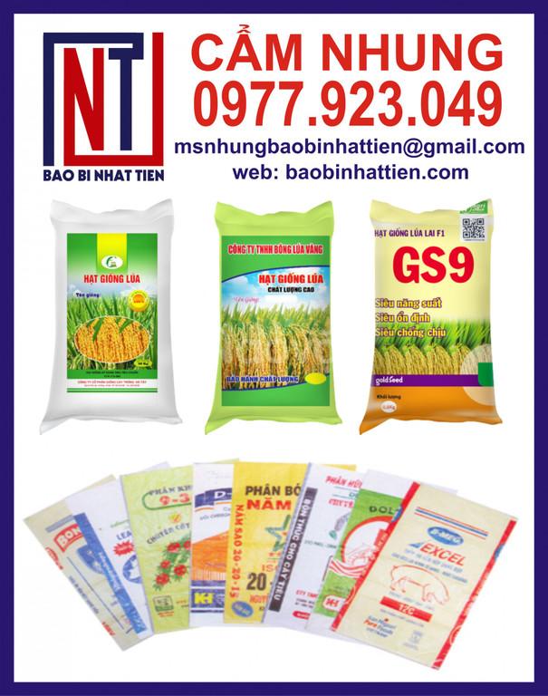 Bao pp đựng gạo 50kg giá rẻ