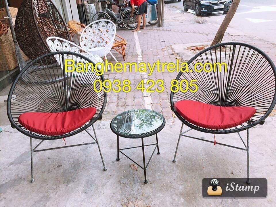 Bàn ghế acapulco, bàn ghế ban công