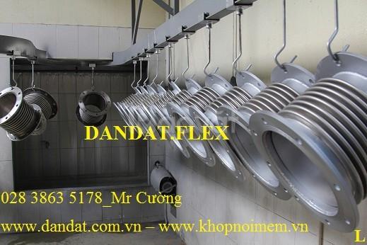 Khớp chống rung, khớp nối mềm inox 316